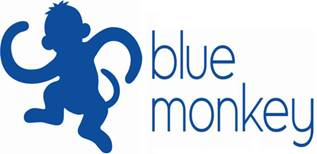 Blue Monkey Sales Logo