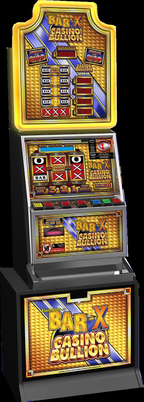 Bar X Casino Bullion