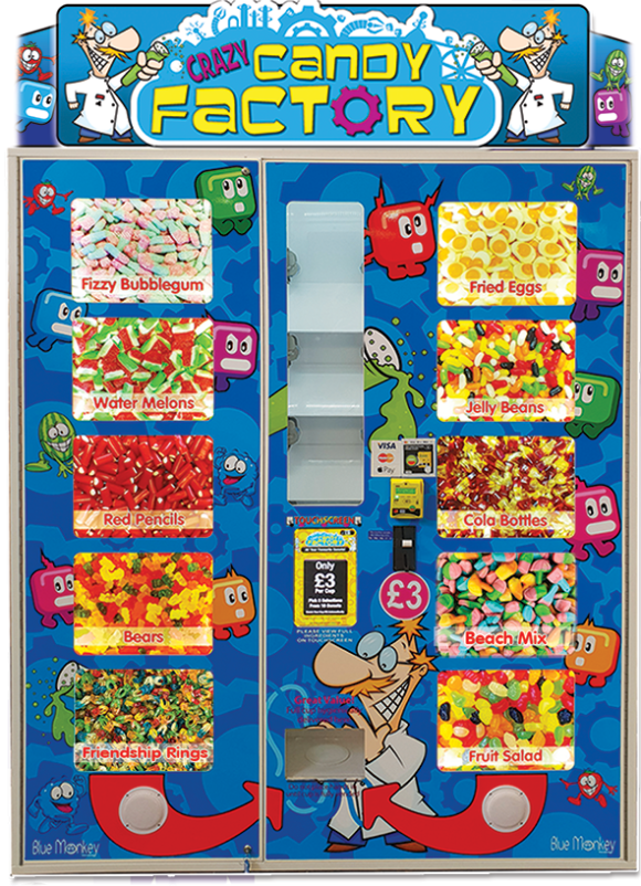 Crazy Candy Factory With New Sweets