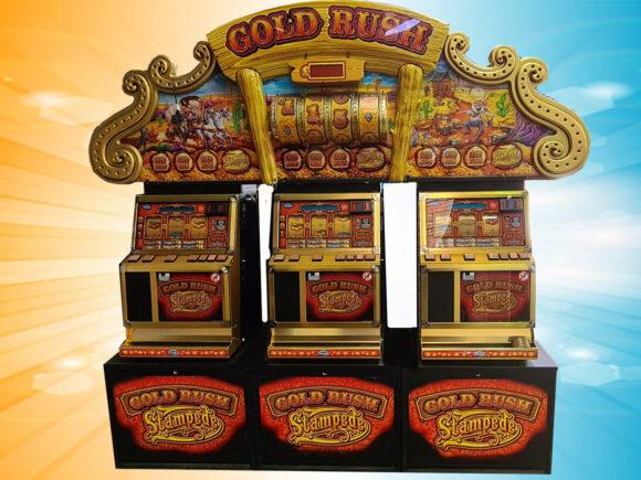 Goldrush Stampede 3 Player